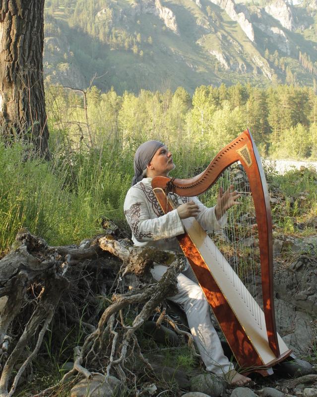 Элизбар (Alizbar-harp) арфотерапия